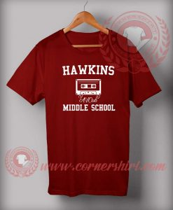 Hawkins Middle School Stranger Things T Shirt