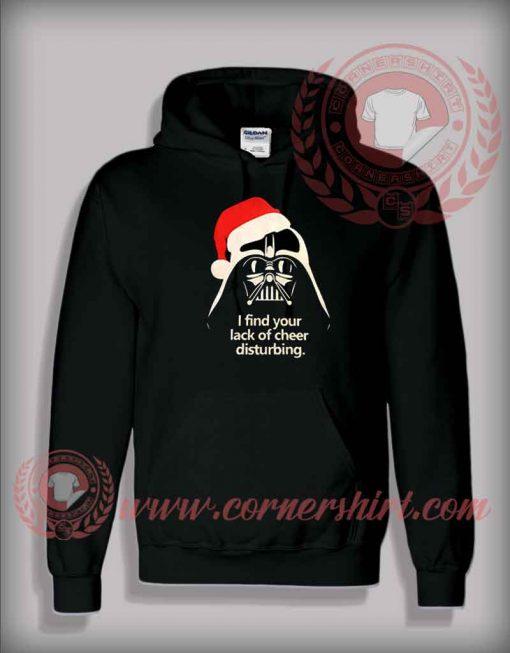 Santa Darth Vader Christmas Pullover Hoodie