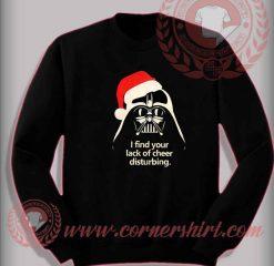Santa Darth Vader Christmas Sweatshirt