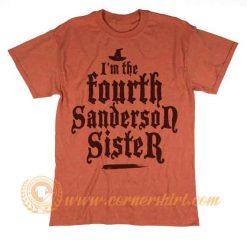I'm The Fourth Sanderson Sister Christmas T shirt