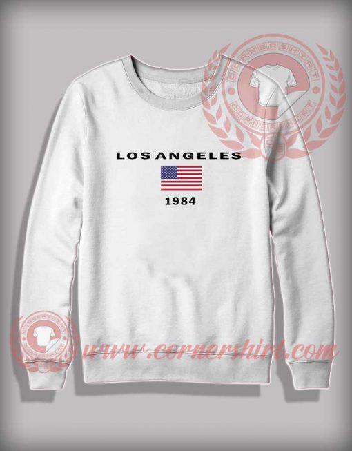 Los Angeles 1984 Crewneck Sweatshirt