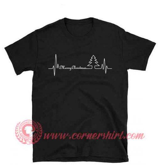 Marry Christmas Heartbeat Christmas T shirt