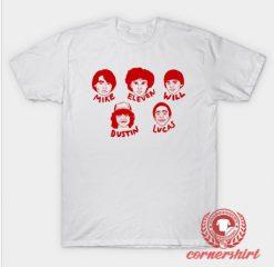 Stranger Things Names Custom Design T Shirts