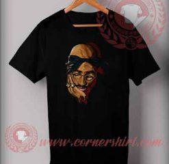 Sad Face Tupac Shakur T shirt