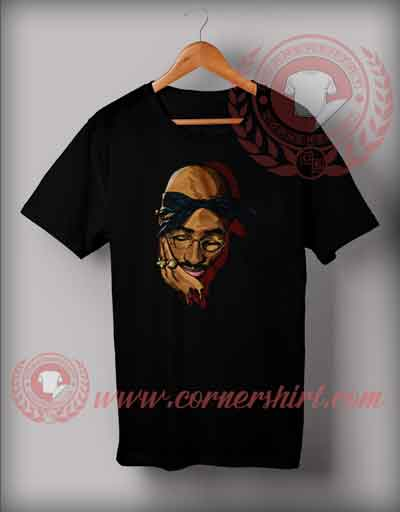 Sad Face Tupac Shakur T shirt