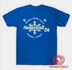 Snow Ball 84 Custom Design T Shirts