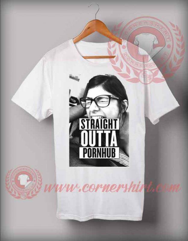 Straight Outta Pornhub T shirt