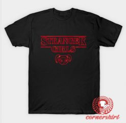 Strange Goonies Girls Custom Design T Shirts