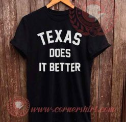 Texas Does It Meter T shirt