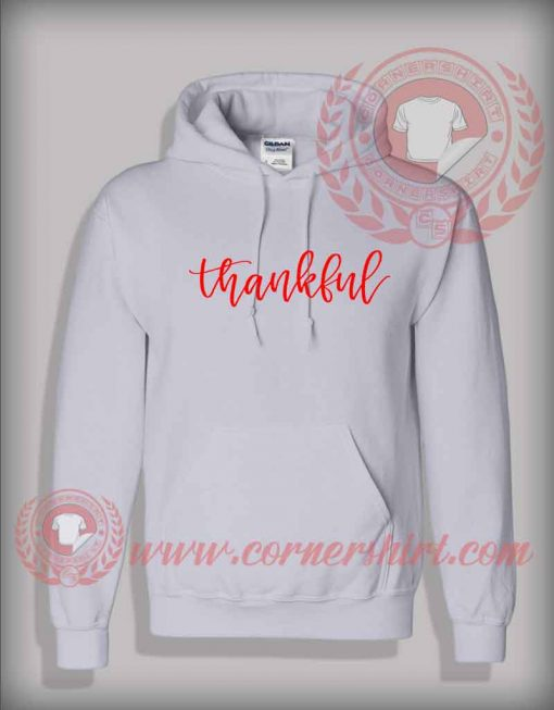 Thankful SVG Christmas Pullover Hoodie