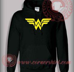 Wonder Woman Logo Pullover Hoodie