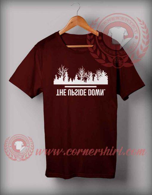 The Upside Down Christmas T shirt