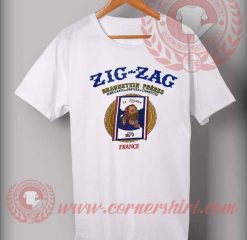 Zig Zag France Cigarettes T shirt