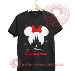 Mickey Mouse Disney Christmas T shirt