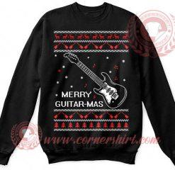 Merry Guitar Mass Christmas Sweatshirt
