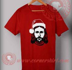 Jesus Santa Birthday Christmas T shirt