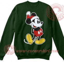 Mickey Mouse Santa Claus Christmas Sweatshirt
