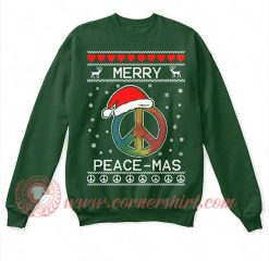 Merry Peace Mass Christmas Sweatshirt