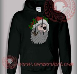 Pirates Santa Claus Christmas Pullover Hoodie