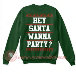 Santa Claus Party Christmas Sweatshirt