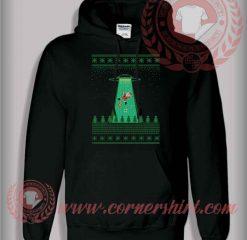 Santa Good Bye Christmas Pullover Hoodie