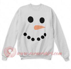 Snow Man Christmas Sweatshirt