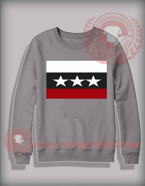 Three Star Christmas Sweatshirt