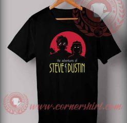 Adventures of Steve and Dustin Custom Design T Shirts