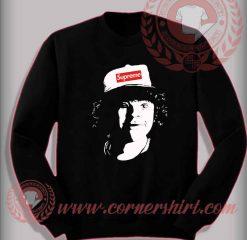 Stranger Things Supreme Dustin Custom Design Sweatshirt