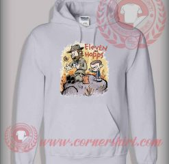 Eleven And Hopps Custom Design Hoodie