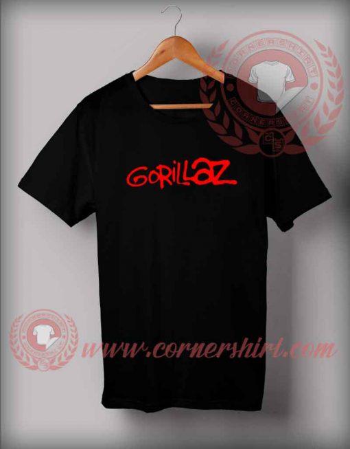 Gorillaz Custom Design T shirts