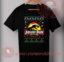Custom Design T shirts Jurassic Park Christmas
