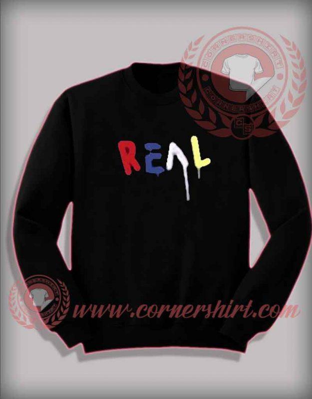 Real Colorful Custom Design Sweatshirt