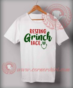 Custom Design T shirts Resting Grinch Face Christmas
