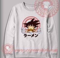 Saiyan Ramen Custom Design Sweatshirt