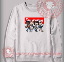 Custom Design Sweatshirt Stranger Things Kids Supreme