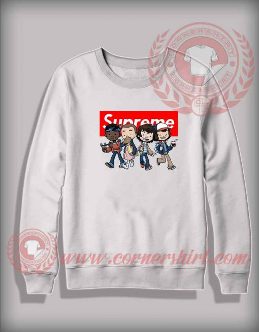 Custom Design Sweatshirt Stranger Things Kids Supreme