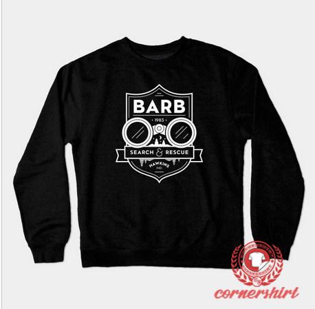 Barb Search And Rescue Custom Design Sweatshirt