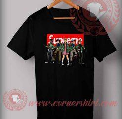 Custom Design Stranger Things Supreme Bicycle T Shirts