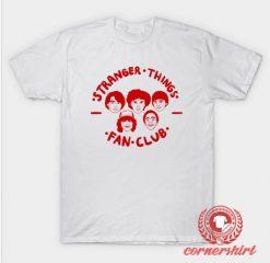 Stranger Things Fan Club Custom Design T Shirts
