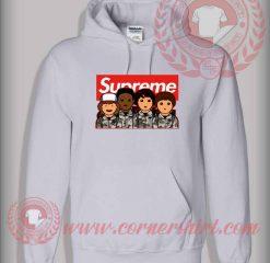Stranger Things Supreme Camo Custom Design Hoodie