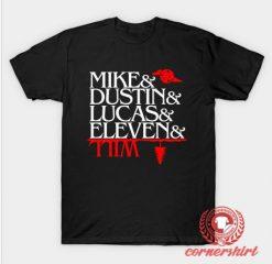 Custom T shirt Stranger Things Characters