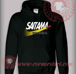 Saitama Just Punch It Custom Design Hoodie