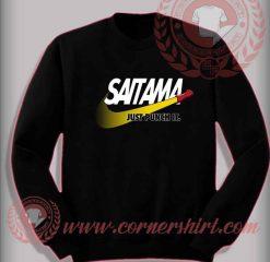 Saitama Just Punch It Custom Design Sweatshirt