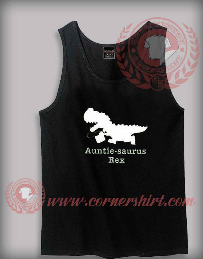 Custom Shirt Design Autiesaurus rex Tank Top