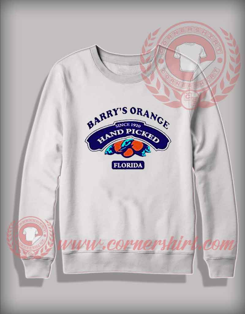 Custom Shirt Design Barry's Orange Florida