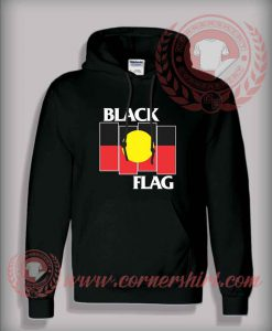 Black Flag Aboriginal X Flag Hoodie