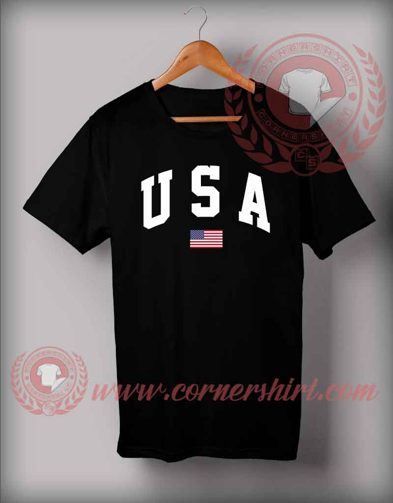 custom shirt design usa flag custom design t shirts