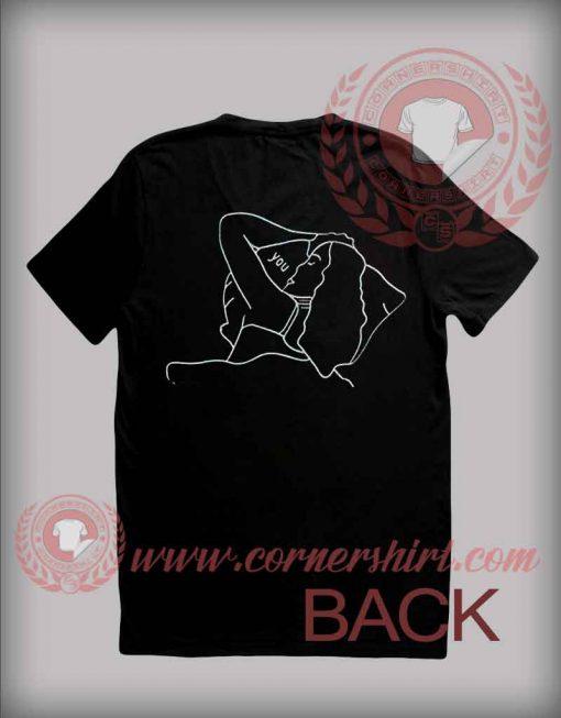 Custom Shirt Design Dreaming Sketch
