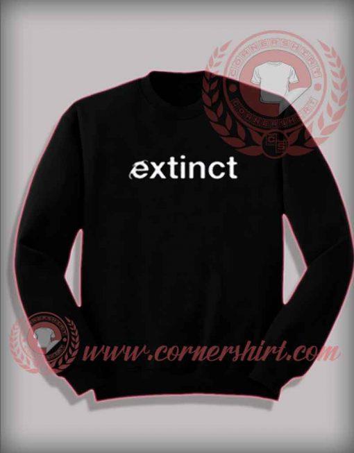 Extinct Custom Design Sweatshirt